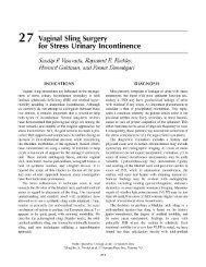 2 7 Vaginal Sling Surgery for Stress Urinary Incontinence - Ether