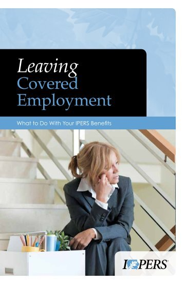 Leaving Employment - IPERS