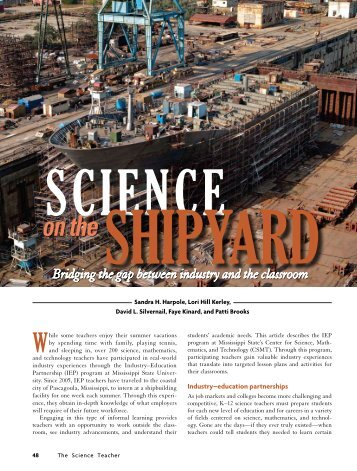 on the - Centers for Ocean Sciences Education Excellence