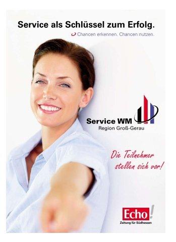 Service als Schlüssel zum Erfolg. - Echo online
