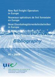 Nouveaux opérateurs de fret ferroviaire en Europe - UIC
