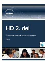 Erhvervsøkonomisk Diplomuddannelse 2013 - Ilisimatusarfik