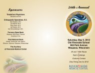 26th Annual Sponsors - ThedaCare