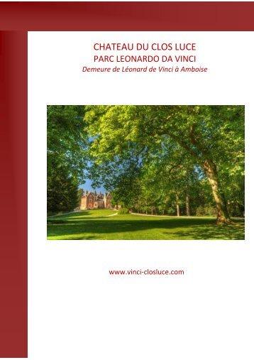 Télécharger le PDF - Château du Clos Lucé