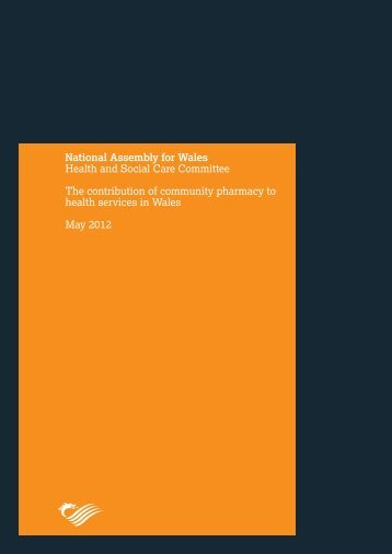The contribution of community pharmacy to health services in Wales