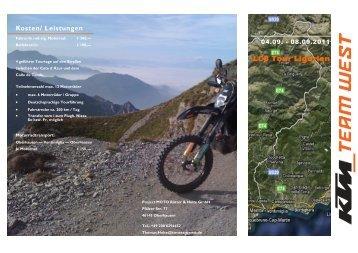 LC8 Tour Ligurien