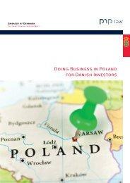 Doing Business in Poland for Danish Investors [PDF] - Peter Nielsen ...