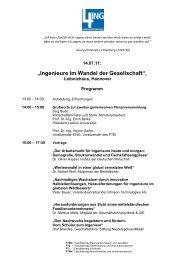 """""""Ingenieure im Wandel der Gesellschaft"""", - 4Ing"""