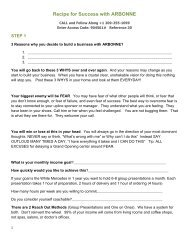 Getting Started Checklist - Beaty Nation | Arbonne | Pure and Safe ...