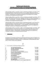 Neufassung der Satzung über Aufwands-, Verdienstausfall- und ...