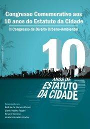 Congresso Comemorativo aos 10 anos do Estatuto da Cidade - ESDM