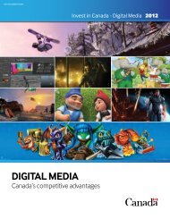 digital Media - Invest in Canada