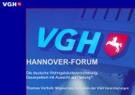 HANNOVER-FORUM - E+S Rück