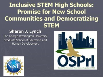 Inclusive STEM High Schools - National Association for Research in ...