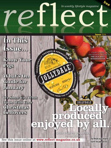 In This Issue... - Reflect Magazine