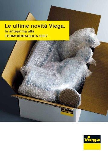 Le ultime novità Viega. - Edilportale
