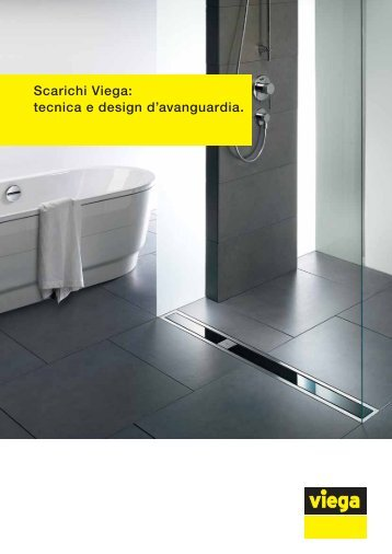 Scarichi Viega: tecnica e design d'avanguardia. - Edilportale