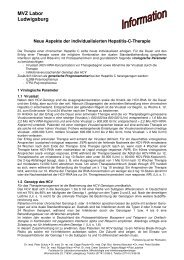 Neue Aspekte der individualisierten Hepatitis-C-Therapie