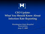 CEO Update: What You Should Know About Infection Rate Reporting