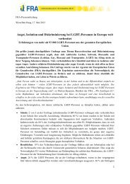 FRA_EU_LGBT survey_press_release_DE - Transgender Network ...
