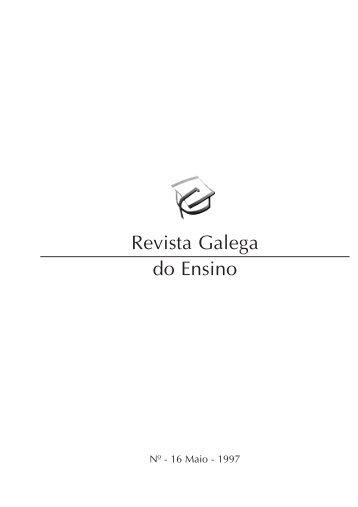 Revista Galega do Ensino - Xunta de Galicia
