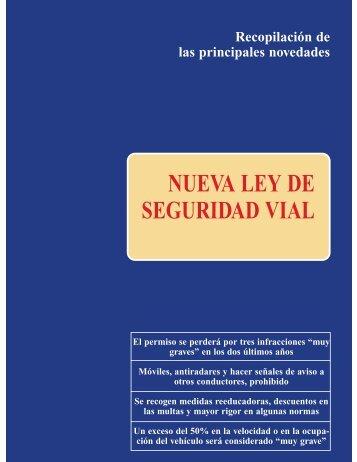 NUEVA LEY DE SEGURIDAD VIAL - Dirección General de Tráfico