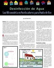 Luz Ultravioleta en Purificadores para Punto de Uso - Agua ...