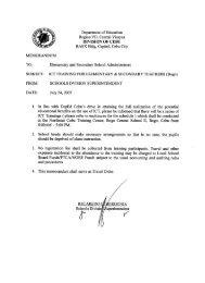 Department of Education Region VII, Central Visayas - DepEd Cebu ...