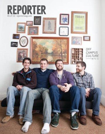 OFF CAMPUS CULTURE - Reporter Magazine