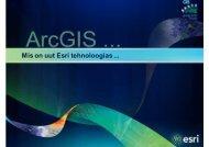 ettekanne - AlphaGIS