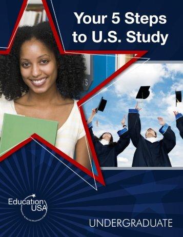 Your 5 Steps to U.S. Study - EducationUSA