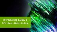 GPU Object Library Linking - NVIDIA Developer Zone
