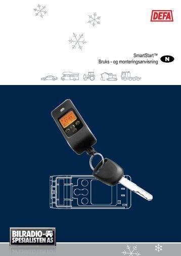 DEFA SmartStart™ Bruks- / monteringsanvisning - Bilradiospesialisten