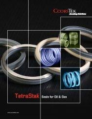 TetraStak™ Seals Brochure - CoorsTek