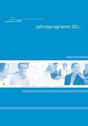 Jahresprogramm 2011 - Technische Akademie Konstanz
