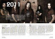 The Year 2011 - Hallowed.se