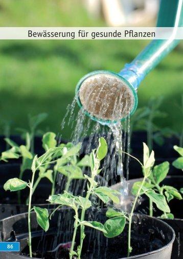 Bewässerung für gesunde Pflanzen - egesa garten Center