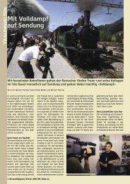 Mit Volldampf auf Sendung - Birseck Magazin