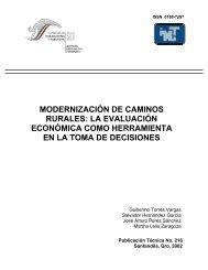 modernización de caminos rurales - Instituto Mexicano del Transporte