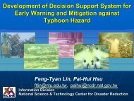 Development of Decision Support System for Early Warning and ...