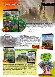 Traktor- Quartett gratis!