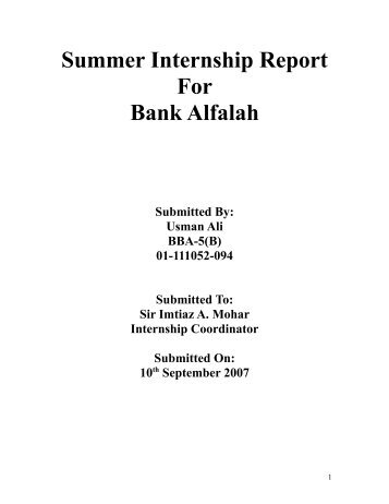 internship report of jamuna bank on foreign exchange l Jamuna bank limited is a highly capitalized new generation bank  special banking services of jamuna bank are considering  internship report on credit risk.