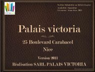 25 Boulevard Carabacel Nice - EGI Patrimoine