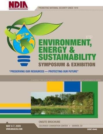 ENVIRONMENT, ENERGY & SUSTAINABILITY - E2S2