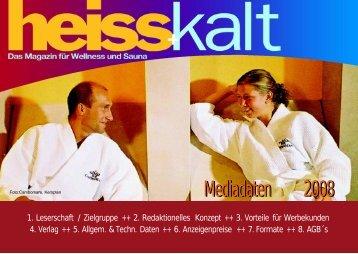 Mediadaten 2008 - Wellness-planung.de