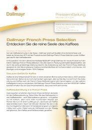 Dallmayr French Press Selection