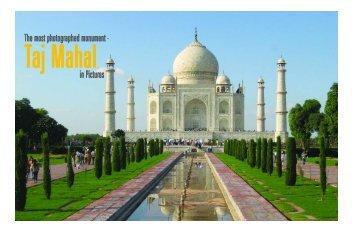 Taj Mahal in Pictures - Apurva Bose Dutta