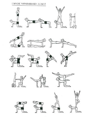 akrobatik 2er figuren