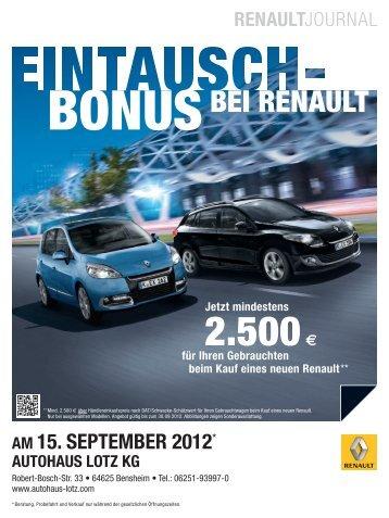 2.500€ - Autohaus Lotz