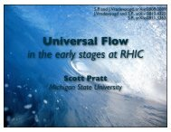 Universal Flow - RHIG - Wayne State University